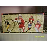 Joe Montana Upper Deck Career Set Football Cards