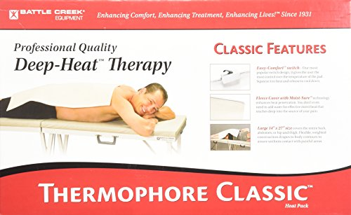 Battle Creek Thermophore Automatic Moist Heat Pack 14 x 27