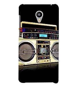 Printvisa vintage tape recorder Back Case Cover for Meizu m3 note::Meizu Blue Charm Note3
