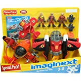 Fisher Price Imaginext Sky Racers Red Team Special Pack