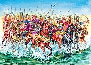 8007 - Age of Battles Table Top, Mazedonische Kavallerie