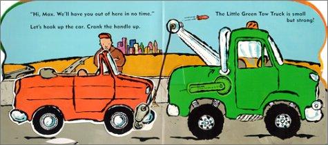 Little Green Tow Truck