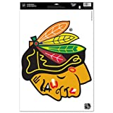 "Chicago Blackhawks Official NHL 11""x17"" Car Window Cling Decal by Wincraft at Amazon.com"