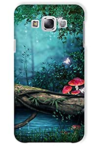IndiaRangDe Hard Back Cover FOR Samsung Galaxy E5