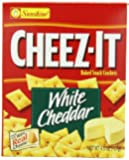 Cheez-It White Cheddar, 4.5-Ounce Packages (Pack of 12)