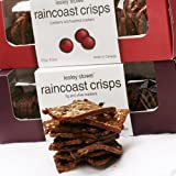 Leslie Stowe Raincoast Crisps, Rosemary Raisin Pecan Crackers, 6 oz