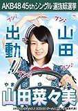 【山田菜々美】 公式生写真 AKB48 翼はいらない 劇場盤特典