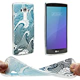 Urcover® LG G4 Hülle | Trend Fashion | TPU in Welle |