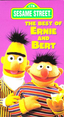 Sesame Street - The Best of Ernie and Bert [VHS]
