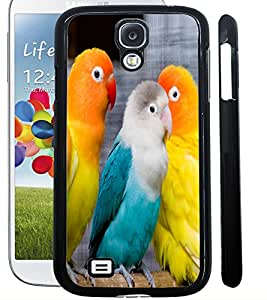 ColourCraft Love Birds Design Back Case Cover for SAMSUNG GALAXY S4 I9500 / I9505