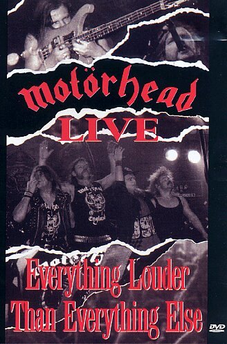 Motorhead Live: Everything Louder (Motorhead Everything compare prices)