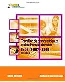 Travailler de grands tableaux et des listes de données - Excel 2007-2010