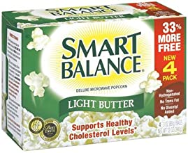 Smart Balance Microwave Popcorn Deluxe Light Butter 3 Oz Bags - 10 Pack