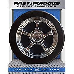Fast & Furious 1-6 Collection - Limited Edition [Blu-ray]