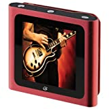 GPX Digital Media Player with 4 GB Installed Flash Memory - Red (ML551R)