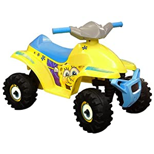 Electric Scooter  on Electric Scooters For Kids  Sponge Bob Electric Car  6 Volt