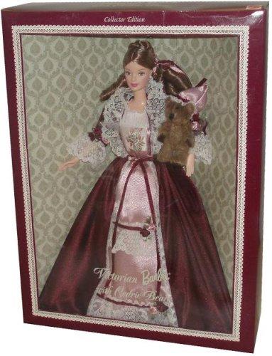 Barbie 1999 – Victorian Barbie with Cedric Bear (Plüsch-Bär) – Collector Edition –  mit COA / Certificate of Authenticity – NRFB jetzt kaufen