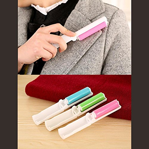 Portable Lint Remover Dust Cleaning Brush Roller Lint Fluff Fabric Pet Hair Fabric Cloth