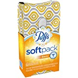 Puffs Softpack Basic Facial Tissues; 1 Softpack; 132 Tissues Per Pack (Pack of 9)