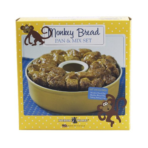 Nordic Ware Monkey Bread Pan with Mix