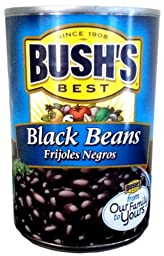 Bush\'s Best BLACK BEANS 15oz (10 Pack)