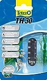 Tetra 753693 TH 30 Aquarienthermometer, präzises Flüssigkeitsthermometer zur Befestigung außen auf der Aquarienscheibe