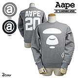 (エーエイプ バイ ア ベイシングエイプ)Aape BY A BATHING APE スウェット トレーナー AAPE MOONFACE TEAM SWEAT M NYX (並行輸入品)