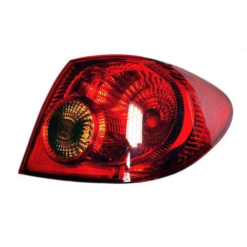 03 04 05 06 07 08 Toyota Corolla Sedan Rear Tail Lamp Light +Bulb - Rh 1 Pc.