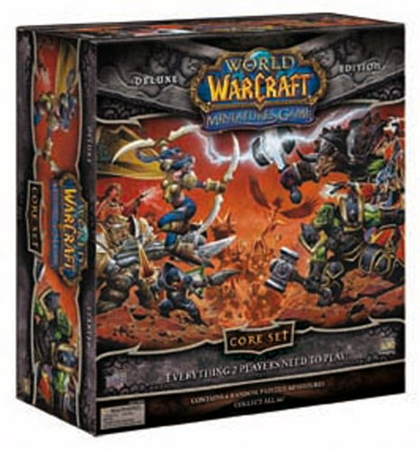 Upper Deck 62874 World Of Warcraft Miniatures Game Core Set Deluxe Edition [importato dalla Germania]