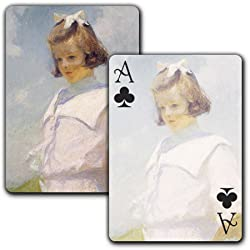 Portrait of Elisabeth - Single Deck Playing Cards