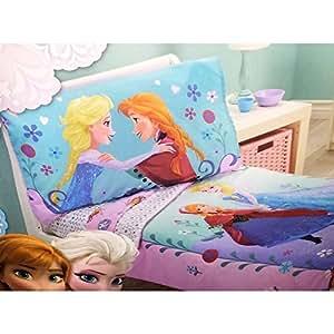 Amazon.com : Disney- Frozen 4 Piece Toddler Bedding Set : Baby