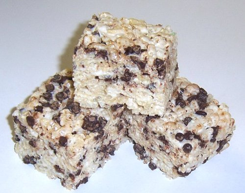 Scott'S Cakes Rice Krispies Treats With Chocolate Chips In A 1 Pound Coffee Break Bag