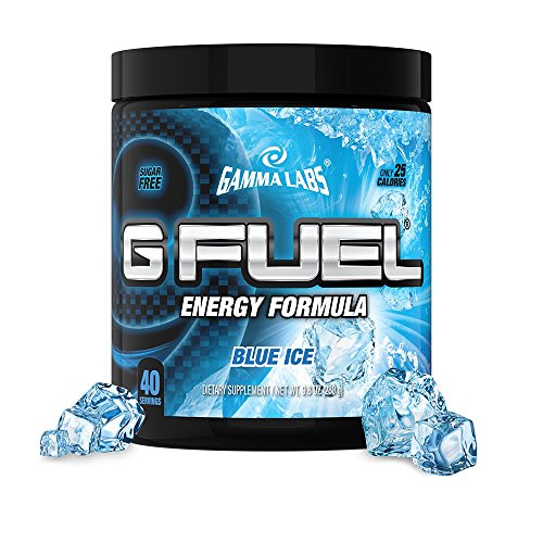 Gamma Labs G Fuel Dietary Supplement, Blue Ice, 280 Gram (Gamma Shaker Cup compare prices)