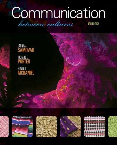 Communication Between Cultures111135359X