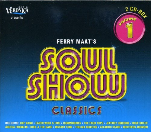 CD : VARIOUS ARTISTS - Ferry Maat's Soulshow Classics 1 / Various (Holland - Import, 2PC)