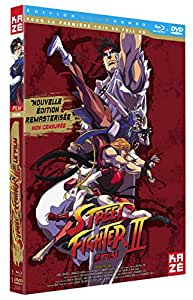 Street fighter II Edition Collector Combo DVD [Blu-ray] [Combo Blu-ray + DVD - Version non censurée]