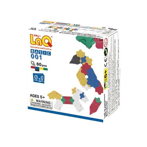LaQ Basic 001 Plane Model Building Kit - 1