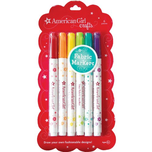 American Girl Crafts Fabric Markers - 1