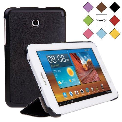 WAWO Samsung Tab 3 Lite 7.0 Inch Tablet Fold Case Cover - Black