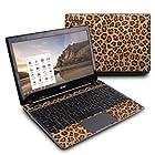 Leopard Spots Design Protective Decal Skin Sticker (Matte Satin Coating) for Acer C7 C710-2847 Chromebook