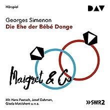 Die Ehe der Bébé Donge Hörspiel von Georges Simenon Gesprochen von: Hans Paetsch, Josef Dahmen