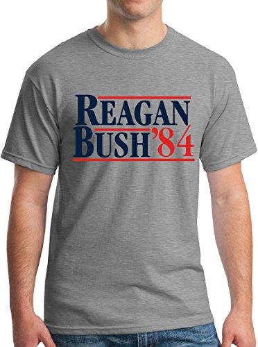 New York Fashion Police Reagan Bush '84 Campaign Tee GOP S (Bush Campaign compare prices)