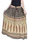 Nishiva Cotton Freesize Printed Long Skirt