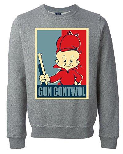 elmer-fudd-gun-contwol-poster-funny-unisex-sweatshirt-xx-large