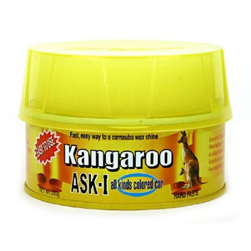 Automobile Wax Superior Quality Smooth & Long Lasting Car Wax [Ask - 1 200G X 2 Items] Made In Korea