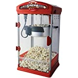 Retro Cinema Popcorn Maker - 4oz Popcorn Machine