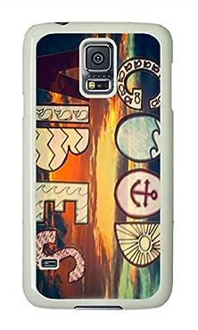 buy Samsung S5 Case Good Vibes Theme Phone Case Custom White Polycarbonate Hard Case For Samsung S5