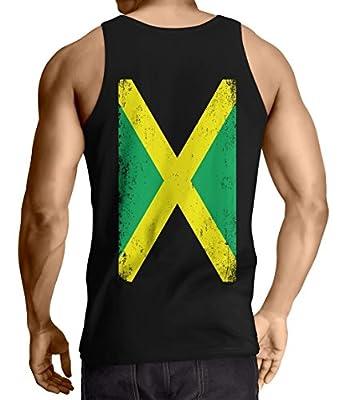 Big Jamaican Flag - Jamaica Men's Tank Top T-shirt
