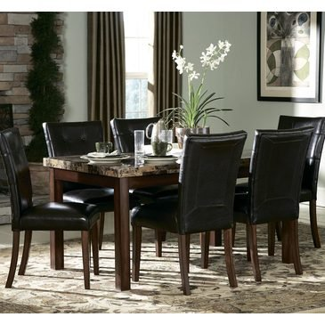 Homelegance Achillea 5 Piece 60 Inch Dining Room Set