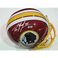 Robert Griffin III Washington Redskins Rookie Signed Autographed Full Size Helmet Authentic Certified Coa